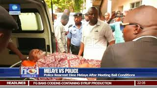 Police Rearrest Dino Melaye After Meeting Bail Conditions