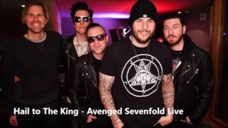 Avenged Sevenfold - Hail To The King ( Live BBC Radio ) 2017