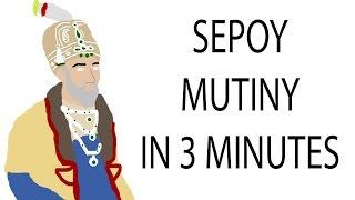Sepoy Mutiny | 3 Minute History