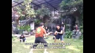 Guyawut Basic Knife Fighting Techniques Seminar