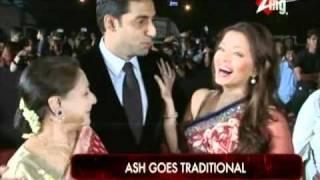 Ash Shows Her Desi Side