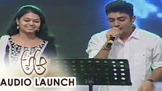 Yaa Yaa Song Live Performance at  Aa Audio Launch || Nithiin, Samantha