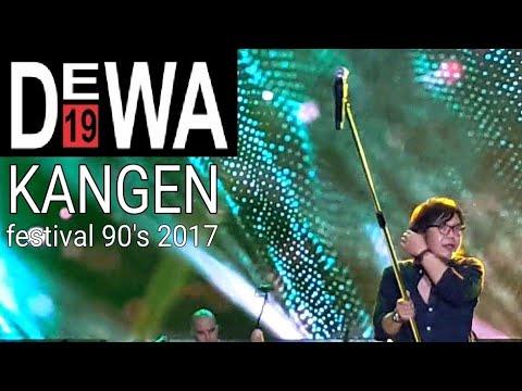 Merinding!! Dewa19 - Kangen (festival 90's 2017 PRJ JIEXPO kemayoran