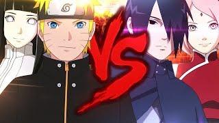 Naruto e Hinata VS. Sasuke e Sakura | Duelo de Titãs Part. Felícia Rock e Sárcelli
