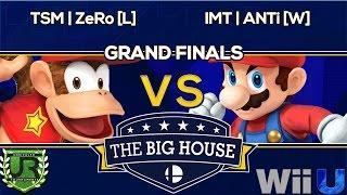 TBH6 GRAND FINALS - TSM | ZeRo [L] (Diddy Kong) vs IMT | ANTi [W] (Mario, Charizard, Cloud) - Wii U