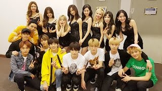 SNSD & NCT moment 2017