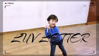 Cutest Performance by 4 years girl | Luv Letter Dance Choreography | G M Dance | Cute Baby Dance