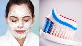 هل تعلم ماذا سيحدث إذا وضعت معجون الأسنان على البشرة.. لن تصدق !
