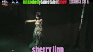 SHERRY LINN al belly dance talent show le 1001 lune d'oriente