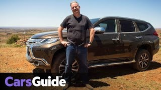 Mitsubishi Pajero Sport Exceed 2016 review | off-road test video