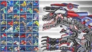 Dino Robot Termityranno Comthus: Assembly + Battlefield | Eftsei Gaming