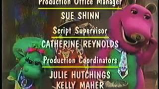 Barney's Once Upon A Time Credits