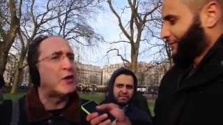 Jewish Zionist gets ANGRY with Muslim - FUNNY debate|| Brother Mohammed Hijab