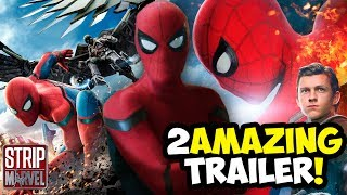 ¡AMAZING! Spider-Man Homecoming Tráiler 3  (Video-Reacción) | Strip Marvel