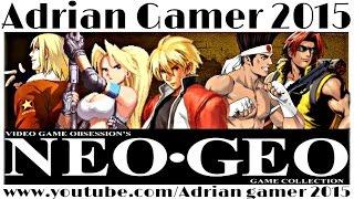 Colección de Juegos Neo Geo PART I para Tiger Arcade 2015