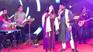 Tomay Dekhle Mone Hoy (cover) || Chhonda Islam and Andrew Kishore || Live stage Performance 2018 |