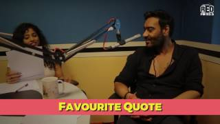 Ajay Devgn Reveals His Favourite Quote | Slambook With Malishka