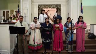 Christian Telugu Songs || Na Priya Yesu Raja || UTCCNJ Choir || June 2017