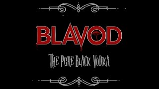 Blavod Black Vodka - Halloween Cocktail - Swamp Float