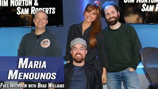 Maria Menounos - Bad Interviews, Chip Impression, Winning Over German Shepard - Jim & Sam