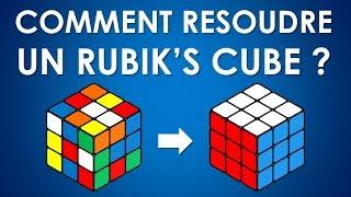 Résoudre un Rubik's Cube - Méthode pour débutants (FRANÇAIS)