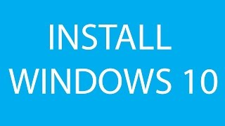 HP Laptop : how to install windows in new DOS based os    2016