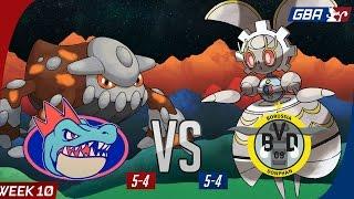Pokemon GBA S7 Wk10 Wi-Fi Battle: Florida Gatrs vs Borussia Donphan