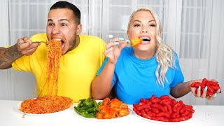 Last One To DRINK Water WINS  (WORLD'S SPICIEST FOODS)