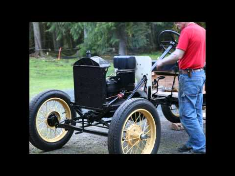 1926 Model T Ford First Start and Drive