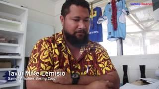 Bronze medal joy rising Samoan boxer