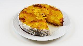 Pineapple upside-down cake کیک آناناسی وارونه