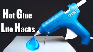 Amazing Hot Glue Life Hacks | Simple Tricks / My Collection Hot Glue Gun Hacks