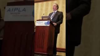 John Rome at AIPLA 2016