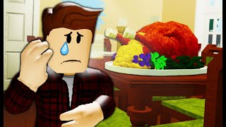 Alone on Thanksgiving: A Sad Roblox Movie