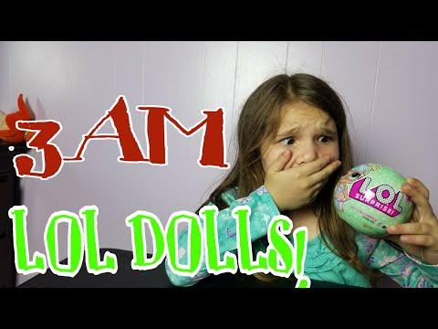 3am LOL Dolls! Do Not Open! OMG So Scary!