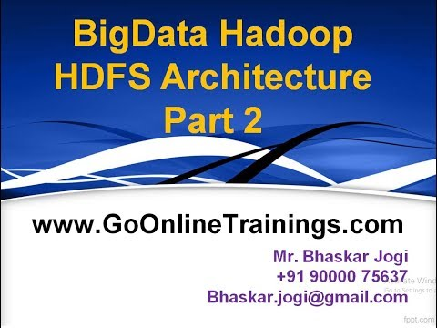 02 Hadoop HDFS Achitecture
