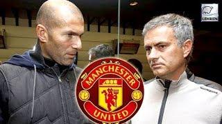 Manchester United To Replace Jose Mourinho With Zinedine Zidane?