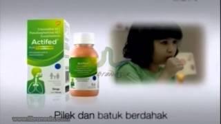 Iklan Actifed - Solusi Yang Di Percaya Untuk Gejalah Batuk Dan Pilek Keluarga Anda
