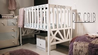 How to build a crib out of wood | DIY crib