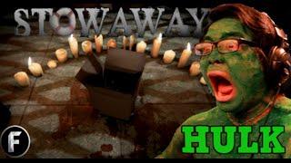 THE INCREDIBLE SCARED ASIAN HULK - Stowaway Demo [Free Horror Games]