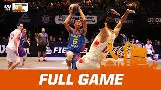 Japan v Mongolia - Full Game - FIBA 3x3 Asia Cup 2017