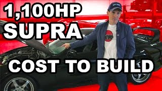 The Cost To Build My 1998 Supra