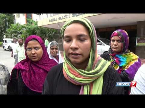 Dharmapuri family explains the ordeal they went through at Karnataka | News7 Tamil
