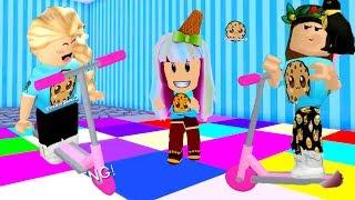Hide and Seek Extreme + Meep City  - Cookie Swirl Roblox Game Video
