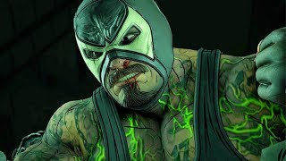 BANE VS BATMAN Fight Scene | Batman: The Enemy Within  (Season 2) Episode 2: The Pact 4K UHD