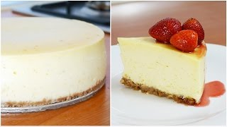 Why does your Cheesecake crack? | How to make New York Style Cheesecake!