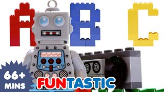 ABC Song | Lego Alphabet Song | ABCs | Nursery Rhymes | Kids Songs