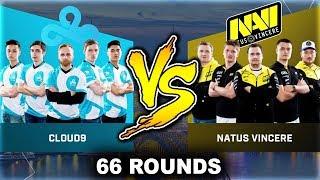 CLOUD 9 VS NAVI 66 ROUND GAME (ESL ONE COLOGNE 2017)