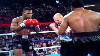 HD - Iron Mike Tyson Title Fight Vs Trevor Berbick - Heavyweight Boxing