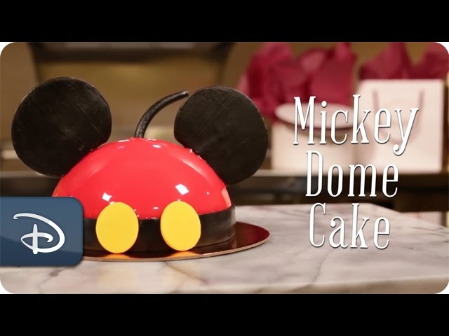 DIY: How-To Make Mickey Dome Cake at Amorette's Patisserie | Disney Springs